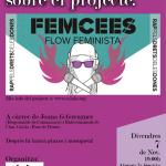 7 de novembre: xerrada sobre el projecte Femcees a l'Ateneu la Sèquia