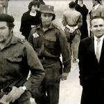 Lucio Urtubia i Joan Busquets, dos històrics combatents anarquistes, junts a Catalunya el 15 de novembre