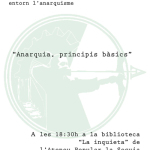 Grups de formació anarquista de l'Assemblea Llibertària del Bages