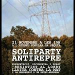 "[Manresa] 21N. Kafeta antirepresiva ""SoliParty"""