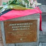 Manifest de l'Ateneu Columna Terra i Llibertat llegit a l'acte d'homenatge dels companys Puertas, Bertobillo i Vilella