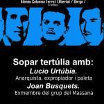 Sopar tertúlia amb Joan Busquets i Lúcio Urtúbia