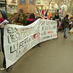 [Berga] Concentració per la llibertat de les anarquistes i contra la llei mordassa