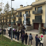 Primera ocupació de la  PAHC del Berguedà