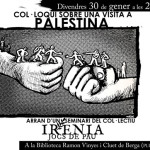 [Berga] Col·loqui sobre Palestina