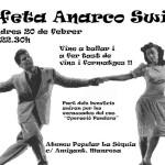 Divendres 20 de febrer: cafeta Anarco Swing a l'Ateneu la Sèquia