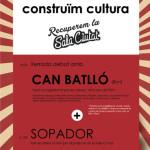 9 d'abril: xerrada-debat amb Can Batlló i sopador a l'Ateneu la Sèquia