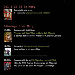 Cartell de presentació de la Marxa-Maquis 2015 a Lleida