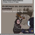 """Passi del documental """"Ingovernables"""" i sopador llibertari"""