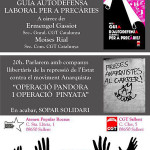 Repressió a l'anarquisme i defensa laboral dissabte a Sallent