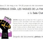 """El documental """"Les vagues de la fam"""" a la Sala Ciutat"""