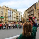 Crònica de CNT Manresa sobre l'1 de Maig combatiu i anticapitalista a Manresa