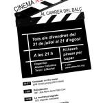 Cinema a la fresca a Berga