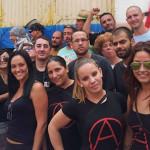 Parlem amb companyes de la Federació Anarquista de Gran Canaria
