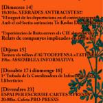 Calendari d'activitats de l'octubre a la Ruda