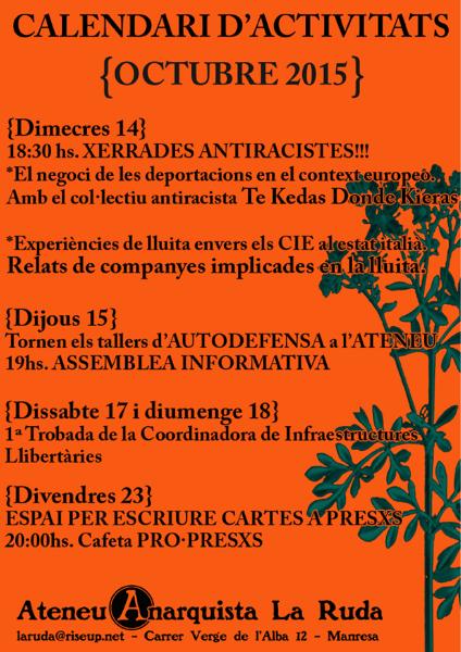 Activitats Octubre A4