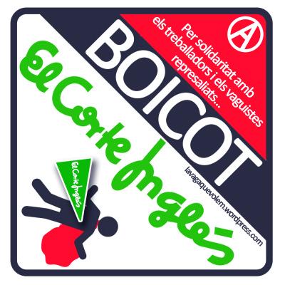 Boicot Corte Inglés