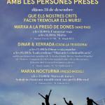 XIX Marxa contra les presons i en solidaritat amb les persones preses