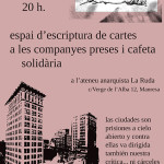 12 de febrer|Cafeta solidària amb les preses