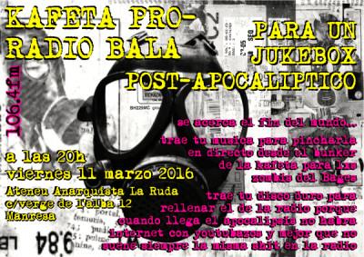 11 març: Kafeta Ràdio Bala