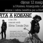 12 maig | Xerrada vaga + concert Silvia Tomas a la Ruda