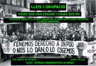 cartell okupació