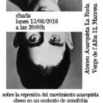13 de juny | Xerrada sobre repressió moviment anarquista txec