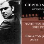 27 de juny | Cinema solidari a la fresca!