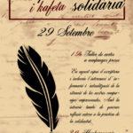 29 setembre | Escriptura de cartes i kafeta solidaria