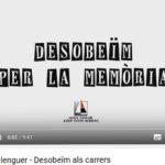 Vídeos dels darrers canvis de noms dels carrers de Berga