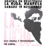 19 de novembre | Gràfica i lluites a l'Ateneu Anarquista la Ruda