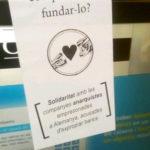 Crònica de la jornada solidària a Manresa amb les acusades d'expropiar bancs a Aachen