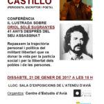 [Avià] Conferència sobre Oriol Solé Sugranyes