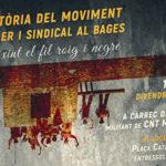 27 de gener| Història del moviment obrer i sindical al bages al local de la CNT de Manresa