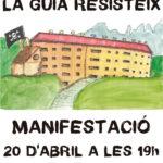 20 d'abril 19h. | Manifestació La Guia existeix, la Guia resisteix a Manresa