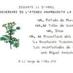 22 d'abril | II Aniversari de l'Ateneu Anarquista la Ruda