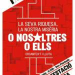 1 de maig | Manifestació anti-capitalista a Manresa