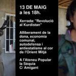 13 de maig | Xerrada sobre la Revolució al Kurdistan a la Sèquia