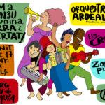 Patum a l'Ateneu Columna Terra i Llibertat