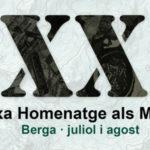 Vintena Marxa-homenatge als Maquis a Berga