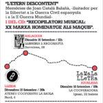 [Balaguer, Igualada i Lleida] Presentació de l'etern descontent, memòries de Joan Català
