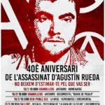 [Sallent] 17 i 18 de març: 40è aniversari de l'assassinat del company Agustín Rueda