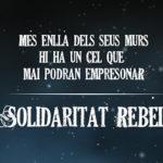 23 de març i 13 d'abri: actes de solidaritat rebel a Manresa