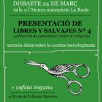 24 de març | Presentació de libres y salvajes a la ruda