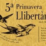 Ja tenim aquí la V edició de la Primavera Llibertària al Bages