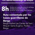 XXI Marxa-Homenatge als Maquis a Berga
