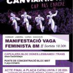 [Manresa] Vaga feminista del 8 de març