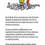 La CGT a ensenyament de la Catalunya central també existim!